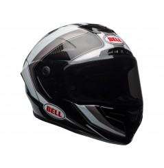 Casque BELL Race Star Gloss White/Titanium/Carbon Sector