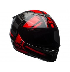Casque BELL RS2 Gloss Red/Black/Titanium Tactical