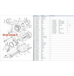 Transmission/ Plaque/ Ecope/ Turbine Superjet 700 08-16