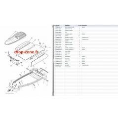 Tapis/ Listons Superjet 700 08-19