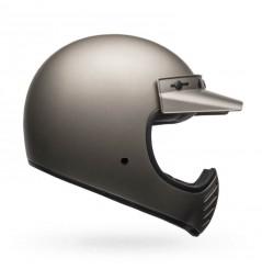 Casque BELL Moto-3 Independent titane mat
