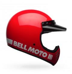 Casque BELL Moto-3 Classic rouge