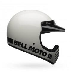 Casque BELL Moto-3 Classic blanc