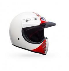 Casque BELL Moto-3 Ace Café GP'66 Gloss White/Red