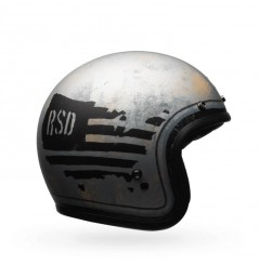 Casque BELL Custom 500 As RSD 74 noir/argent