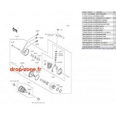 Démarreur STX-15F/ Ultra LX/ 310-R-X-LX/  300-X/  300 LX/  250X/  260X/ STX-12F/ SX-R 1500/ STX 160