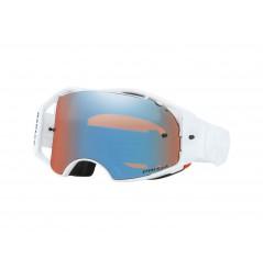 Masque OAKLEY Airbrake Whiteout écran Prizm MX Sapphire