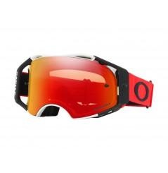 Masque OAKLEY Airbrake MX rouge/noir écran Prizm MX Torch Iridium