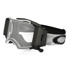 Masque OAKLEY Airbrake Race-Ready Roll-Off Matte White Speed écran transparent