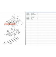 Couvre culasse FX SHO 11-15/ FX Cruiser SHO 12-15/ FZR-FZS 11-13