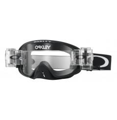 Masque OAKLEY O Frame 2.0 Race Ready Roll-Offs Matte Black écran transparent
