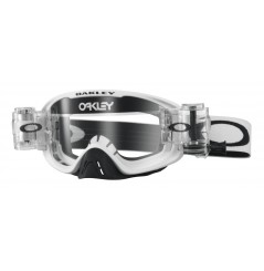 Masque OAKLEY O Frame 2.0 Race-Ready Roll-Offs Matte White écran transparent