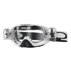 Masque OAKLEY O Frame 2.0 Race-Ready Roll-Offs Matte White écran transparent