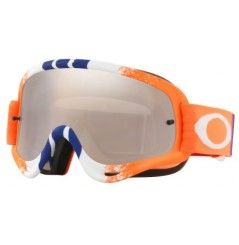 Masque OAKLEY O Frame Pinned Race Orange/Blue écran Black Iridium