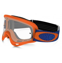 Masque OAKLEY O Frame Shockwave Orange/Blue écran transparent