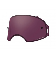 Ecran double de rechange OAKLEY Airbrake Prizm MX Snow Rose