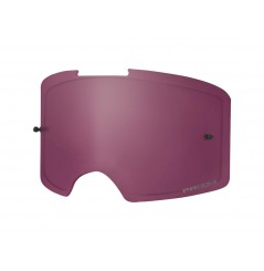 Ecran double de rechange OAKLEY Front Line Prizm MX Snow Rose