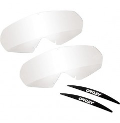 Ecrans de rechange OAKLEY Mayhem Pro roll-off transparent