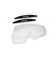 Ecrans de rechange OAKLEY O-Frame roll-off transparent