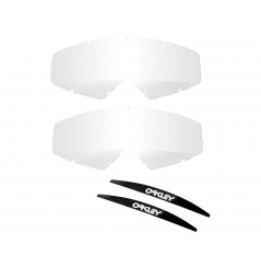 Ecrans de rechange OAKLEY Proven roll-off transparent