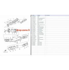 Echappement 1 VX V1 15/ V1 Sport 12-15/ Cruiser 12-15/ Deluxe 12-15