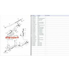 Echappement 3 VX V1 15/ V1 Sport 15/ Cruiser 15/ Deluxe 15