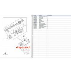 Démarreur VX V1 15/ V1 Sport 10-15/ Cruiser 08-15/ Deluxe 08-15/ VX 08-09