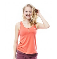 JOBE DISCOVER TANKTOP FEMME CORAL ROUGE