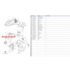 Echappement 4 V1 15/ V1 Sport 15/ VX Cruiser 10-15/ VX Deluxe 10-15/ VX Sport 10-15