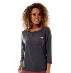JOBE DISCOVER LOOSE FIT SHIRT FEMME GRIS