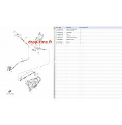 Câbles V1 15/ VX Sport 10-14