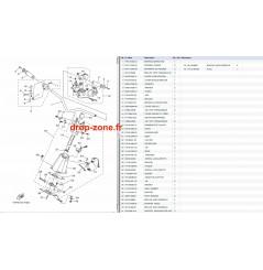 Colonne/ Guidon V1 Sport 16/ V1 15/ V1 Sport 15
