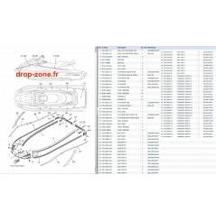Tapis/ Listons VX Cruiser 15/ VX Deluxe 15
