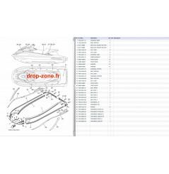 Tapis/ Listons VXR 15/ VXS 15