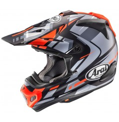 Casque ARAI MX-V Bogle Red