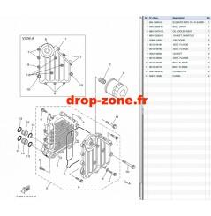 Radiateur d'huile FX SVHO 17-20/ FX Cruiser SVHO 17-20/ GP 1800 17-20/ FX SVHO Limited 20