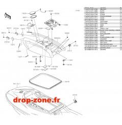 Capot SX-R 1500 19-20