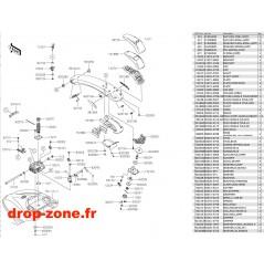 Bras SX-R 1500 19-20