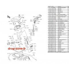 Coque avant STX-15F 16
