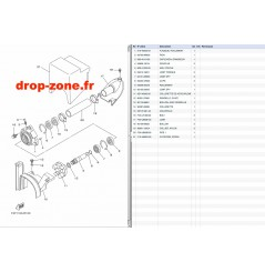 Transmission 1050 VX Deluxe 17-19/ VX Cruiser 17-19/ VX 18-19