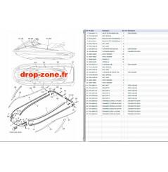 Tapis/ Listons VX Cruiser 17