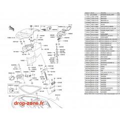 Coque avant STX-15F 13