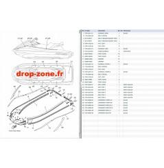 Tapis/ Listons VX Cruiser HO 17