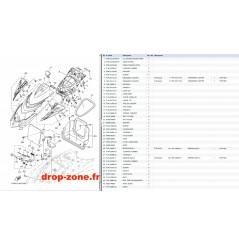 Capot GP 1800 17 BLEU/ ROUGE