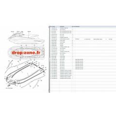 Tapis/ Listons GP 1800 17