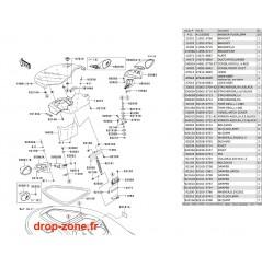 Coque avant STX-15F 11