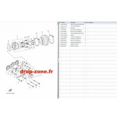 Echappement 1 EX Sport 17-19/ EX Deluxe 17-19/ EX 18-19/ EXR 19