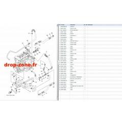 Echappement 2 EX Sport 17-19/ EX Deluxe 17-19/ EX 18-19/ EXR 19