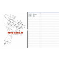 Cache guidon EX Sport 17-18/ EX Deluxe 17/ EX 18