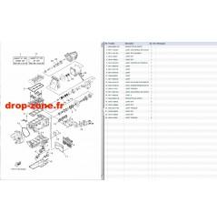 Kits réparations EX Sport 17-19/ EX Deluxe 17-19/ EX 18-19